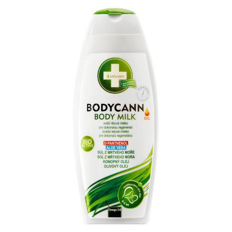 BODYCANN BODY MILK NATURAL 250ML / Annabis 11,50€