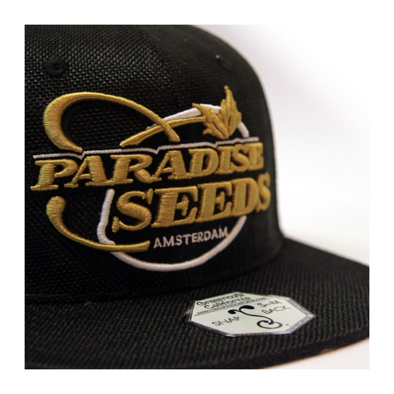 Casquette Paradise seeds - Gold Hemp Snapback