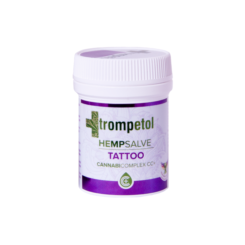 Crème pour tatouage au CBD 50 ml - Trompetol