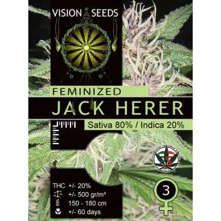 Jack herer vision seeds féminisée 17,50€