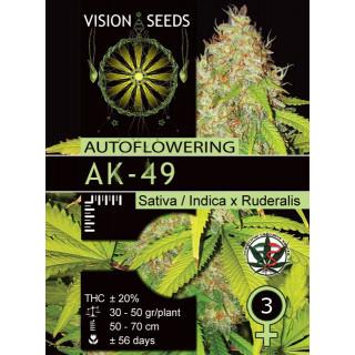 Ak-49 auto vision seeds 17,50€