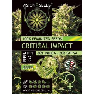 Critical impact vision seeds féminisée 21,00€