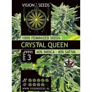 Crystal queen vision seeds féminisée 15,00 €