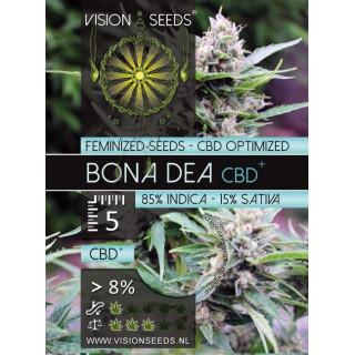 Bona dea CBD+ vision seeds féminisée