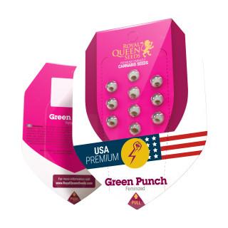Green crack punch royal queen seeds féminisée