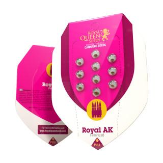 Royal AK royal queen seeds féminisée