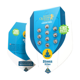 Stress killer CBD auto royal queen seeds