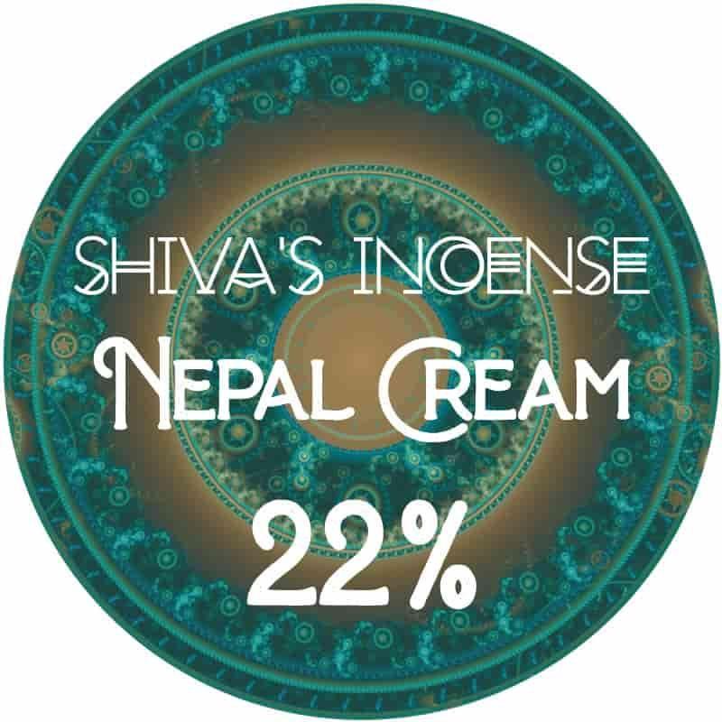 Nepal cream 22% CBD - 1gr à 1000gr