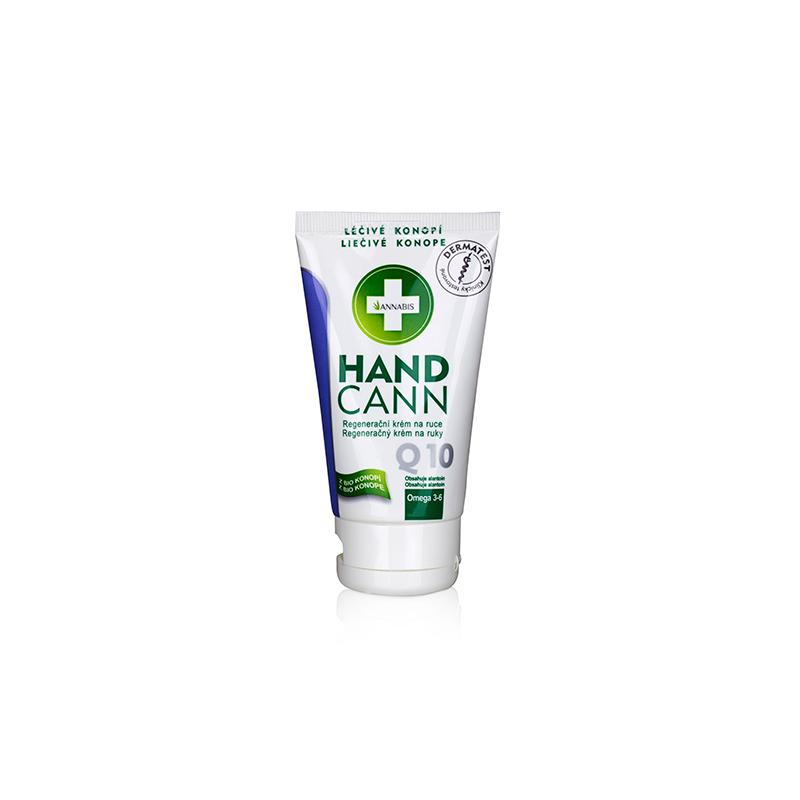 Handcann annabis crème mains Q10 au chanvre 75 ml