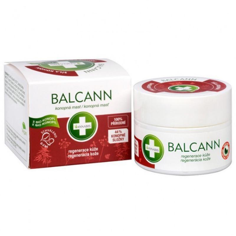 Balcann annabis pommade bio chanvre 50 ml