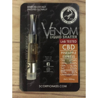 Cartridge cbd venom pineapple express