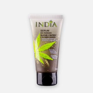 Sérum pour peaux très sèches à l'huile de chanvre - India