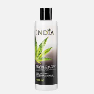 Shampoing à l'huile de chanvre 400 ml - India