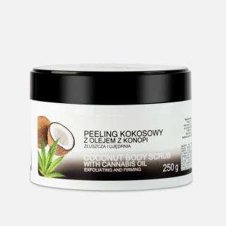Gommage à l'huile de coco et huile de chanvre 250 ml - India