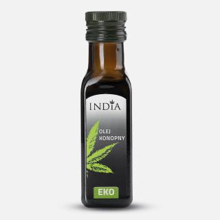 Huile de chanvre bio pressée à froid 100 ml - India
