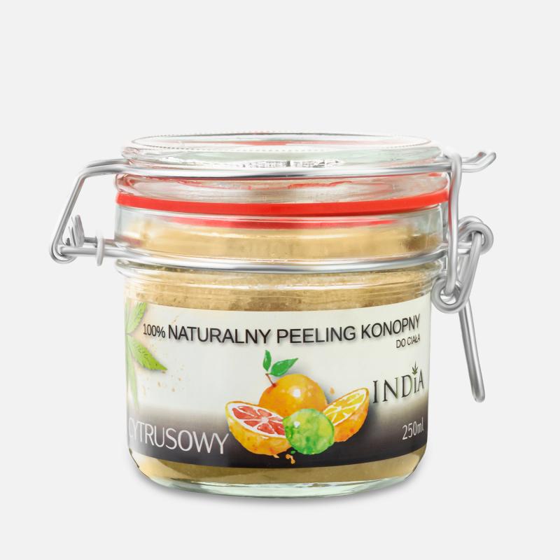 Gommage naturel aux agrumes 250 ml - india