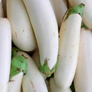 Aubergine Casper sachet de 30 graines - Kokopelli