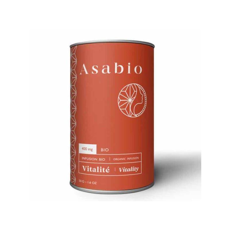 Infusion CBD Vitalité 50g - Asabio